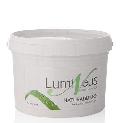 NATURAL&PURE Revitalising Powder Mask
